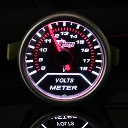 2 inch 52mm Universal Auto Red LED Voltage Car Volt Gauge 8 18V Meter 1