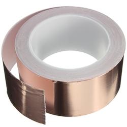 50mmX20m Copper Foil Tape Single Conductive EMI Shielding Adhesive 1