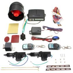 Universal Vehicle Central Locking Remote Kit Car Alarm Immobiliser Shock Sensor 1