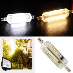 R7S LED Bulb 8W 78MM SMD 3014 108 Pure White/Warm White Corn light Lamp 220V-240V 1