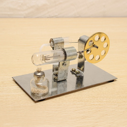 STEM DIY Hot Air Engine Model Educational Toy Kits 1