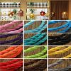 1m Vintage Colored DIY Twist Braided Fabric Flex Cable Wire Cord Electric Light Lamp 6