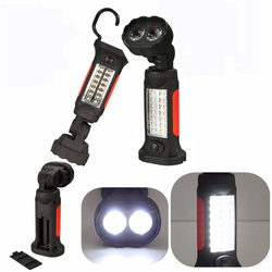 Magnetic 16 LED Inspection Hanging Camping Hand Flashlight 1