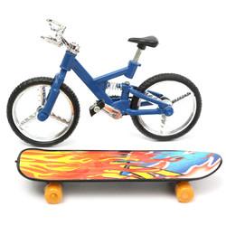 Tech Deck Finger Bike Bicycle & Finger Board Boy Kid Children Wheel Toy Gift 1