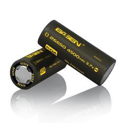 1pcs Basen BS26003 26650 4500mah 3.7V 60A Unprotect Flat Top Rechargeable Li-ion Battery 1