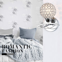 Modern Crystal Wall Lamp Fixture for Home Bedroom Living Room Decoration 1