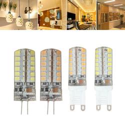 G9 G4 7W 48 SMD 2835 LED Warm White White Corn Light Lamp Bulb AC 220V 1