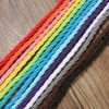 10m Vintage Colored DIY Twist Braided Fabric Flex Cable Wire Cord Electric Light Lamp 5