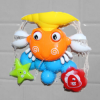 Baby Crab Windmills Bath Toy Faucet Plastic Wash Toys Spray Water Fun 4
