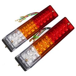 Pair 12V Truck Trailer Caravan LED Brake Rear Tail Reverse Light Turn Indiactor 1