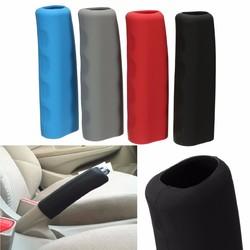 Silicone Anti Slip Car Interior Handbrake Brake Handle Lever Cover 1