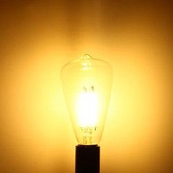 E14 4W Kingso COB Edison Bulb Antique Lamp Retro Vintage Light 220V 1