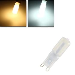 G9 5W 22 SMD 2835 LED Warm White White Light Lamp Bulb AC 110V / 220V 1