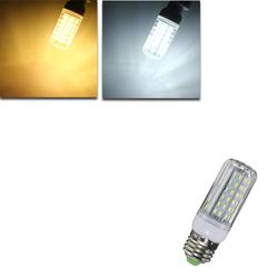 E27 E14 E12 B22 G9 GU10 9W 96 SMD 4014 LED Warm White Pure White Cover Corn Bulb AC110V 1