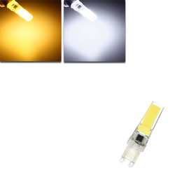 Dimmable G9 LED 3W Pure White Warm White COB LED Light Lamp Bulb AC220V 1