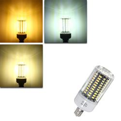 E17 E14 E12 12W 120 SMD 5736 LED White Warm White Natural White Cover Corn Ligh Lamp Bulb AC85-265V 1