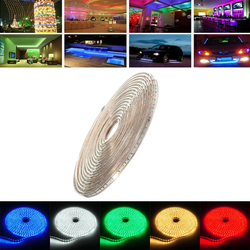9M 31.5W Waterproof IP67 SMD 3528 630 LED Strip Rope Light Christmas Party Outdoor AC 220V 1