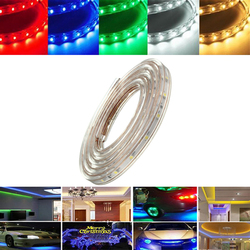 1M 3.5W Waterproof IP67 SMD 3528 60 LED Strip Rope Light Christmas Party Outdoor AC 220V 1