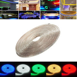 15M 52.5W Waterproof IP67 SMD 3528 900 LED Strip Rope Light Christmas Party Outdoor AC 220V 1