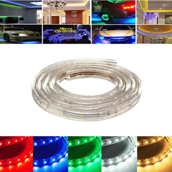 4M 14W Waterproof IP67 SMD 3528 240 LED Strip Rope Light Christmas Party Outdoor AC 220V 1