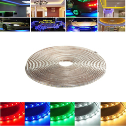 10M 35W Waterproof IP67 SMD 3528 600 LED Strip Rope Light Christmas Party Outdoor AC 220V 1