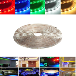 8M 28W Waterproof IP67 SMD 3528 480 LED Strip Rope Light Christmas Party Outdoor AC 220V 1