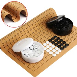 361PCS Weiqi Professional Go Game Suede Leather Sheet Chinese Play Fun 1