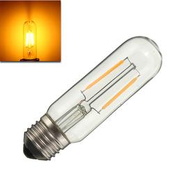 Dimmable T10 E27 2W COB Pure White Warm White 200Lumens Retro Edison Light Bulb AC110V AC220V 1