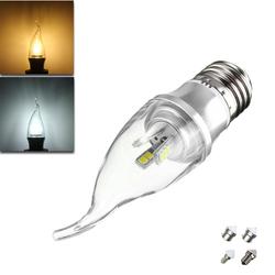 E27 E14 E12 B22 B15 3W LED Pure White Warm White 15 SMD 2835 LED Candle Light Lamp Bulb AC85-265V 1