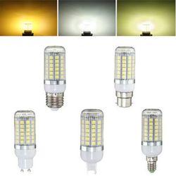 E27 E14 B22 G9 GU10 6W 69 SMD 5050 LED 450Lm Pure White Warm White Natural White Corn Bulb AC220V 1