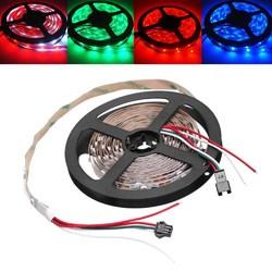 5M WS2812B IC SMD5050 Non-waterproof RGB LED Strip Light Individual Addressable Rope Lamp DC5V 1