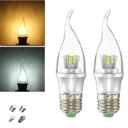 E27 E14 E12 B22 B15 6W 25 SMD 2835 LED Pure White Warm White Filament Light Lamp Bulb AC85-265V 1
