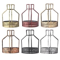 Iron Vintage Ceiling Light Fitting Lamp Bulb Net Bottom Shape Cage Bar Cafe Lampshade 1