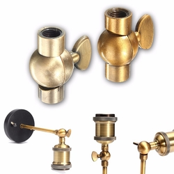 40*40*15MM Vintage Light Lamp Bulb Holder Socket Droplight Connector Zinc Alloy 1