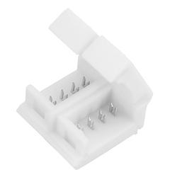 4 Pin 10mm Width Solderless Connectors for Waterproof LED RGB Strip 1