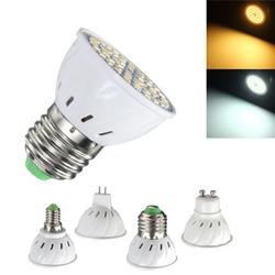 E27 E14 GU10 MR16 3.5W 24 SMD 5050 LED Pure White Warm White Spotlightt Bulb AC110V AC220V 1