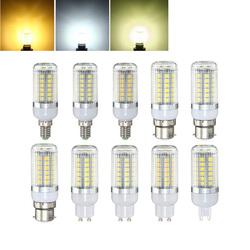 E27 E14 B22 G9 GU10 4.5W 48 SMD 5050 LED Pure White Warm White Natural White Cover Corn Bulb AC220V 1