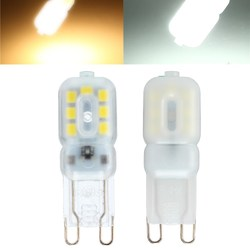 ZX Dimmable G9 3W Transparent Milky 14 SMD 2835 LED Pure White Warm White Corn Light 110V 220V 1