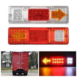 1.5W 24V LED Brake Tail Light Turning Signal Lamp for Trailer Truck Car Caravan Boat UTV 1