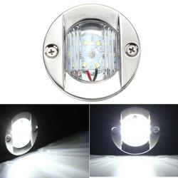 75mm LED Stern Lights Tail Lamp Transom Anchor IP66 2.2W 12V White 1Pcs for Marine Boat 1