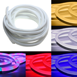 10M 2835 LED Flexible Neon Rope Strip Light Xmas Outdoor Waterproof 220V 1