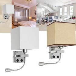 E27 Cloth Modern LED Wall Lamp Sconce Light for Hallway Bedroom Bedside 1
