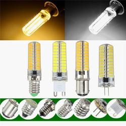Dimmable E11 E12 E14 E17 G4 G9 BA15D 2.5W LED Corn Bulbs Warm Pure White Silicone Light Bulb AC110V 1