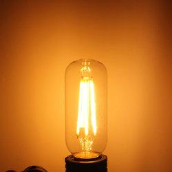 Kingso T45 E26/E27 Dimmable Edison LED Bulbs Warm White COB Vintage Light 400LM 4W 110V/220V 1