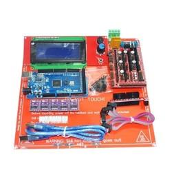 3D Printer Kit RAMPS 1.4+ Mega 2560 +DRV8825 Stepper Motor+2004 LCD+PCB Heat Bed MK2B 1