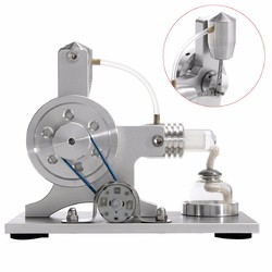 Stirling Engine Model Physical Motor Power Generator External Combustion Educational Toy 1