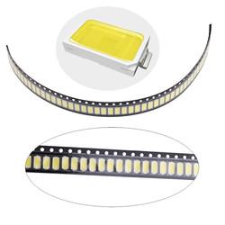 100pcs 0.5W SMD 5730 LED Lamp Chip High Power White Bead DC3-3.2V 1