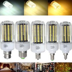 E27 E17 E14 E12 B22 18W 100 SMD 5736 LED Pure White Warm White Natural White Corn Bulb AC85-265V 1