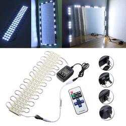 3M SMD5630 Waterproof White LED Module Strip Light Kit Mirror Signage Lamp + Adapter DC12V 1