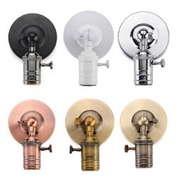 E27/E26 Modern Edison Vintage Ceiling Light Wall Lamp Bulb Holder Socket Sconce 1